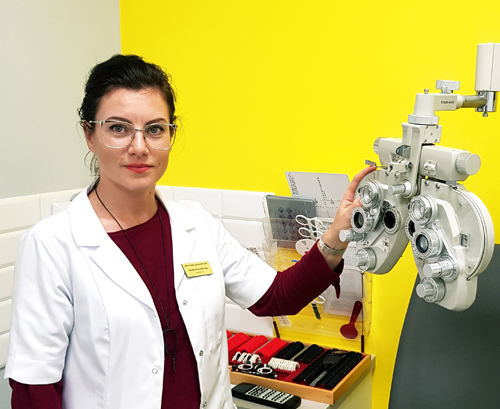 Optometrysta Joanna Potrzebowska